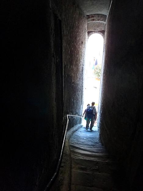 vernazza escalier