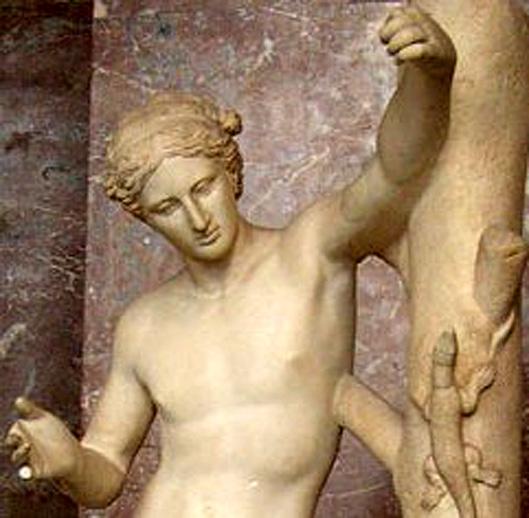 Apollon sauroctone Louvre
