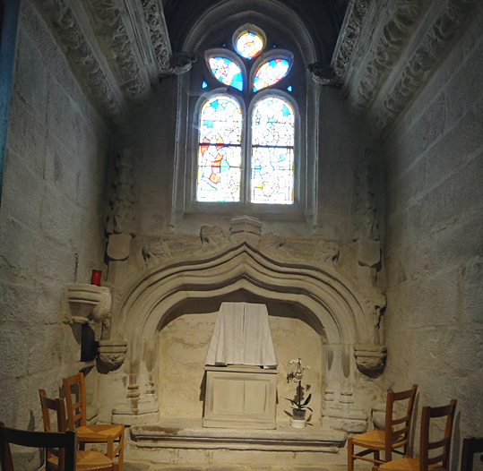 chapelle kericuff eglise plougasnou