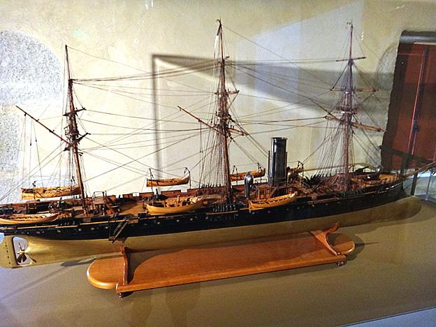 croiseur la perouse 1877 brest musee de la marine