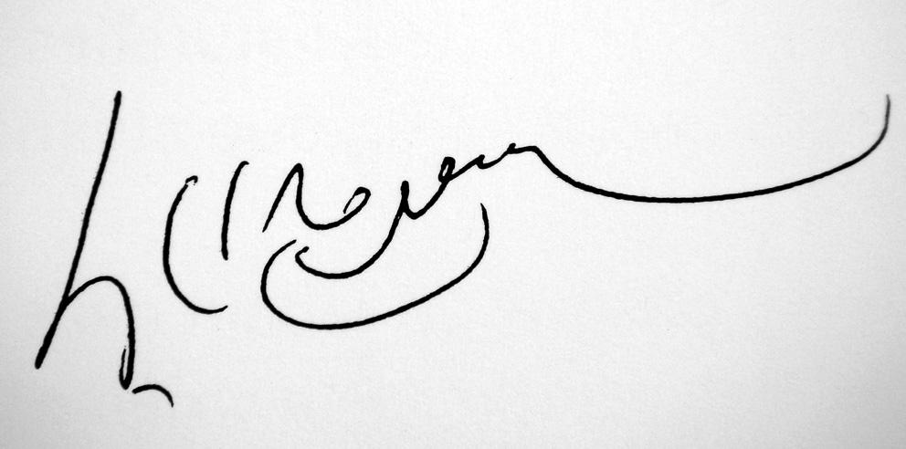 Dalai-lama signature