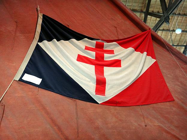 drapeau a croix de lorraine