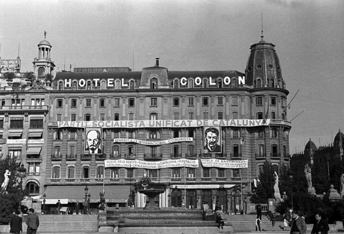 hotel colon barcelone 1936