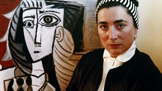 Jacqueline Picasso et elle meme peinte par pablo