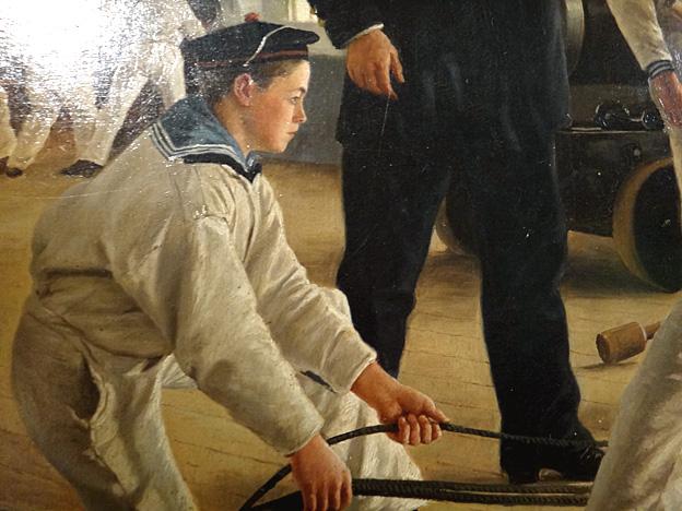 mousse 1890 brest musee de la marine