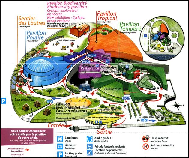 plan brest oceanopolis