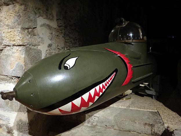 porte torpille marder brest musee de la marine