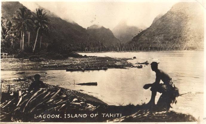 1932 lagon tahiti