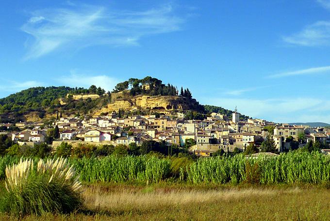 cadenet village du vaucluse