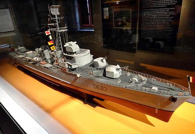 croiseur colbert brest musee de la marine