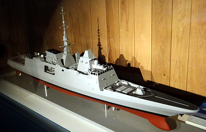 fregate multi missions aquitaine 2012 brest musee de la marine