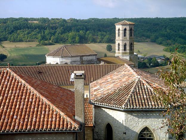 Montcuq église saint Hilaire