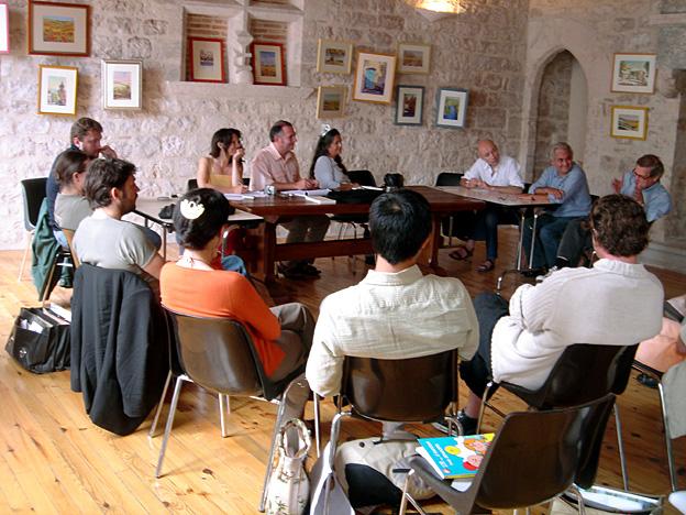 Montcuq Conseil des blogs 2005