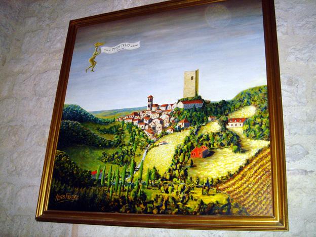 Montcuq peinture