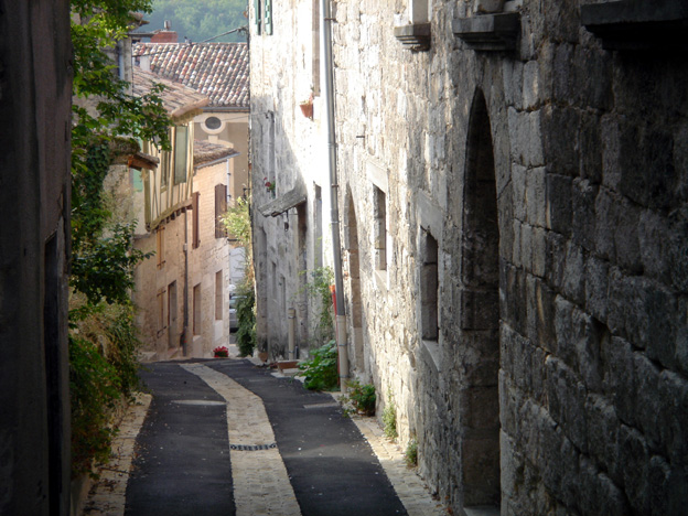 Montcuq ruelle