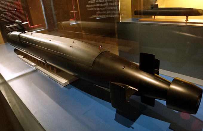 sous marin nucleaire le redoutable brest musee de la marine