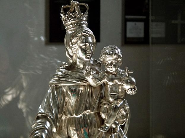 vierge a enfant eglise plougasnou