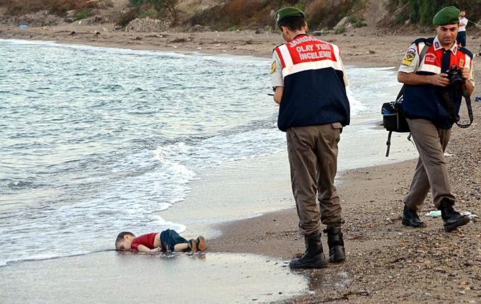 enfant syrien noye