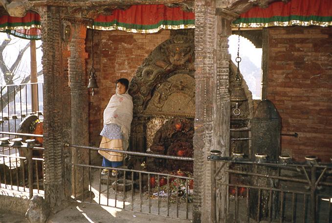 bhaktapur fille nepal