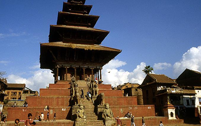 bhaktapur nepal temple