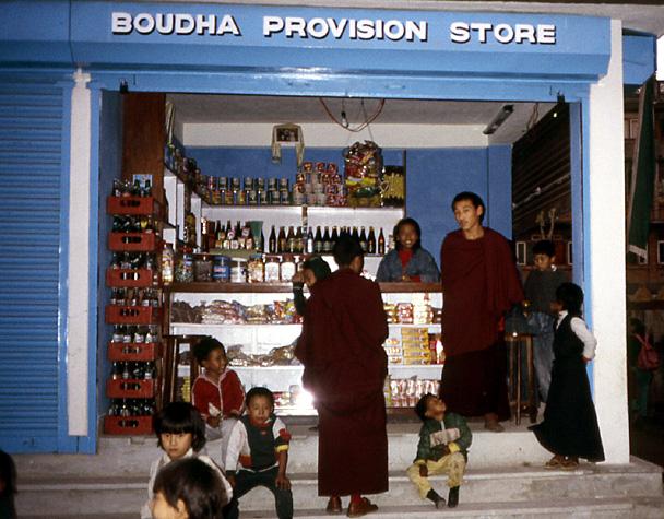 bouddha provision store bodnat nepal