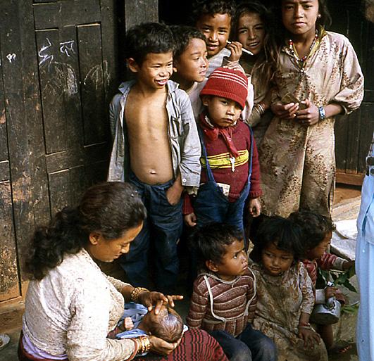 famille nepal