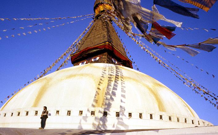 grand stupas de bodnat nepal