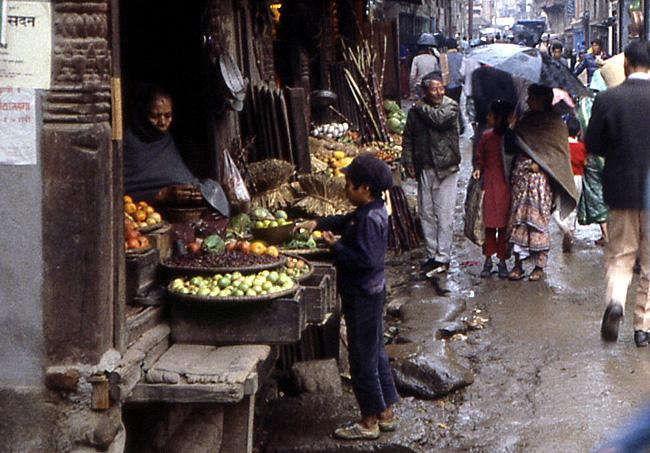 katmandou nepal 1988