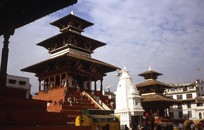 katmandou nepal hamman dhoka