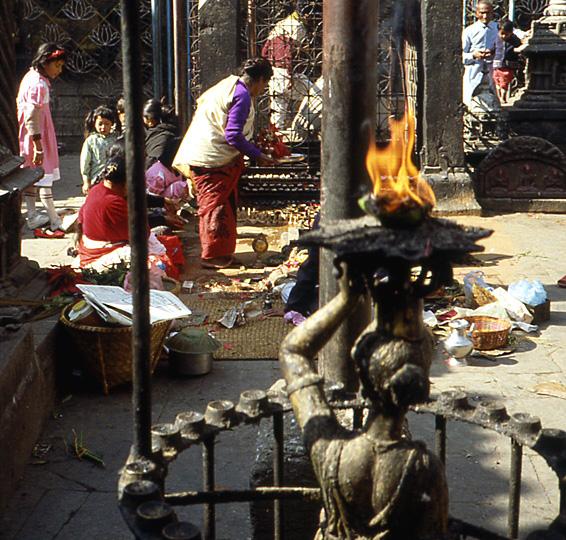 katmandou nepal temple