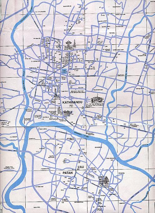 Katmandou plan