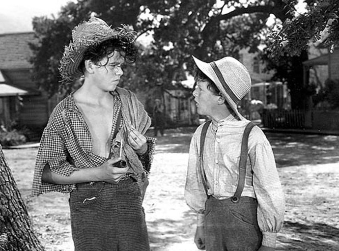 kuck finn et tom sawyer film Selznick 1938