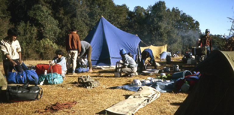 nepal camp siwapuri