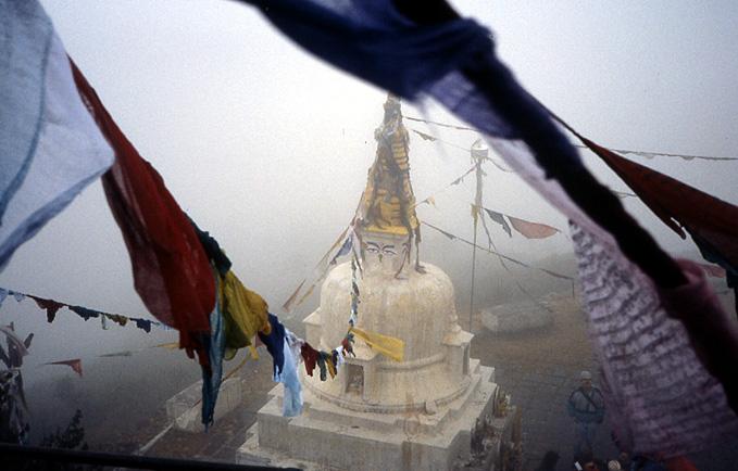 nepal stupa jamakok