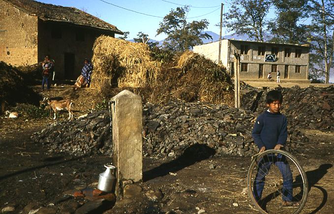 nepal village de capagan