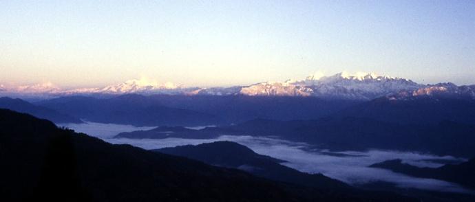 panorama himalaya nepal