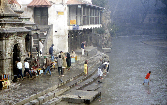 pasupatinath ghat sur bagmati nepal
