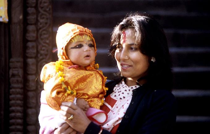 pasupatinath mere et babou bapteme nepal