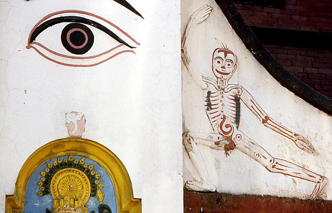pasupatinath squelette sexue nepal