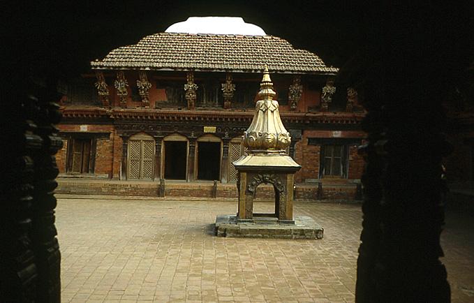 patan cours palais royal nepal