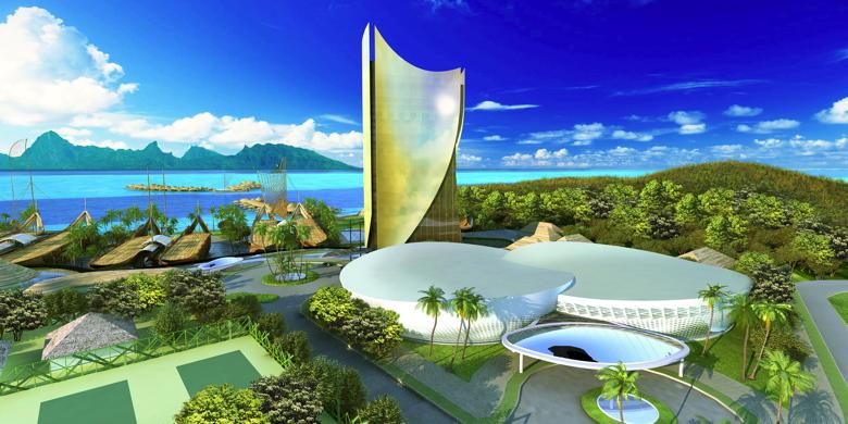 tahiti mahana beach resort