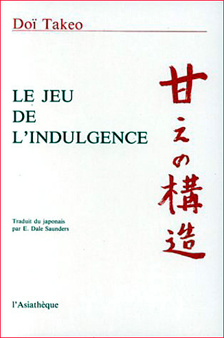 takeo doi le jeu de l indulgence