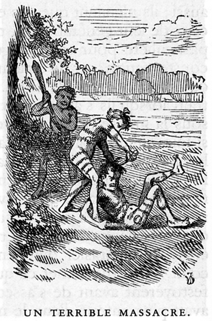 tom sawyer joue nu aux indiens