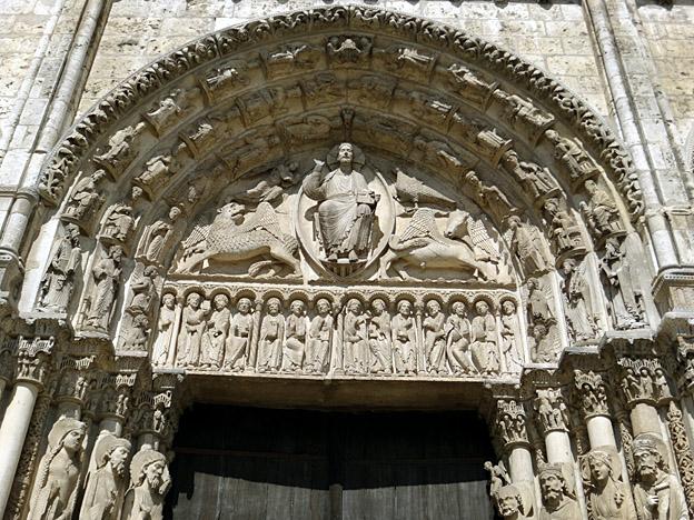 Chartres portail royal