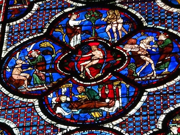 Chartres vitrail bleu de chartres