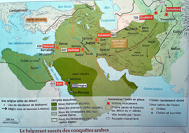 empire islam carte