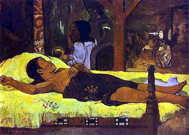 gauguin nativite