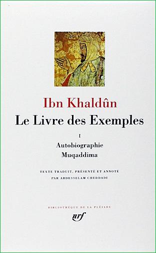 ibn khaldoun le livre des exemples