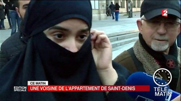 voile integral interroge sur France 2