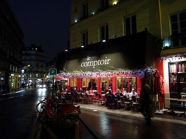 paris restaurant le comptoir yves camdeborde carrefour odeon